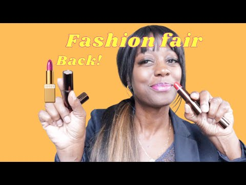Lipstick Lookbook: Fashion Fair  Shades