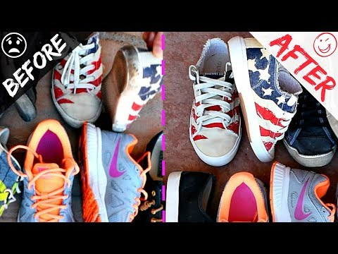 How To Clean Sneakers, White Or Colored, Converse, Nike, Disel Shoes