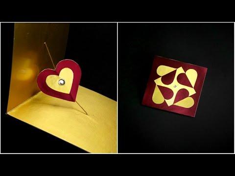 DIY SPINNER CARD / HANDMADE GREETING CARD MAKING IDEAS
