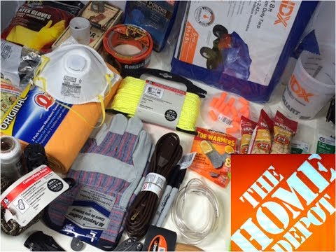 Home Depot Urban Survival Kit: Bug Out Bag