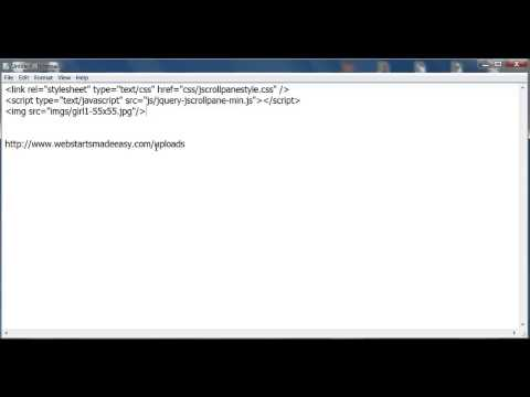 How to add your key URL File and Image links into your HTML code