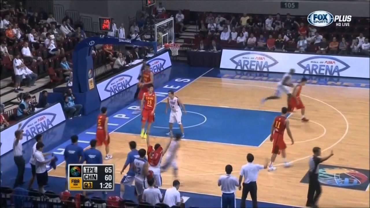 2013-8-9 FIBA Asia亞錦賽。中華(TPE) VS 中國(CHN) #中華隊全場整場進球剪輯
