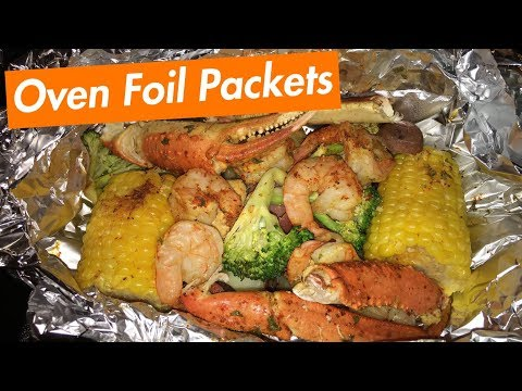 How to Make: Oven Foil Packets