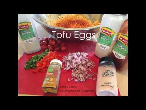 How to make Healthly Tofu Eggs Instructional