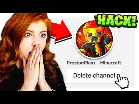 my sister HACKED my channel...