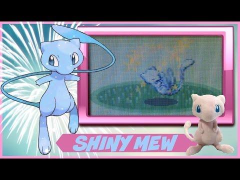 Live Shiny Mew, 7452 RAs, Emerald, Plush Quest #24