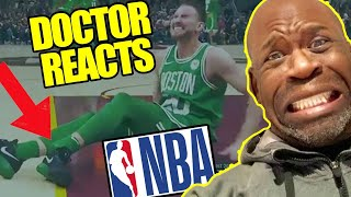 reaction to horrible basketball injuries Videos - 9tube tv