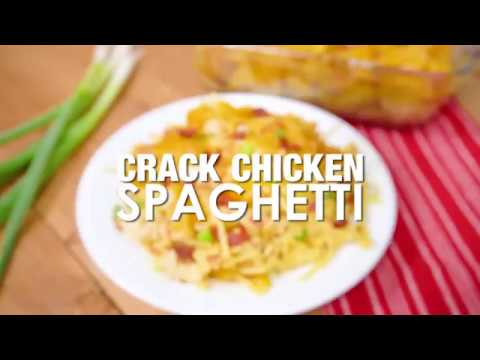 CRACK CHICKEN SPAGHETTI