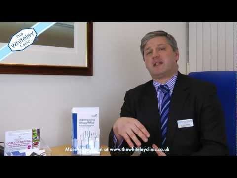 Leg ulcers - Mark Whiteley answers your questions about leg ulcers