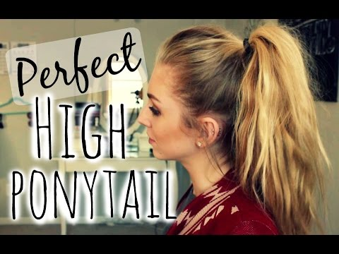 The Perfect High Ponytail!
