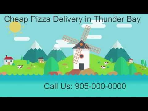 cheap pizza delivery thunder bay