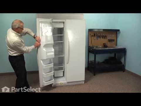 Refrigerator Repair - Replacing the Freezer Door Gasket (Whirlpool Part # 2159074/2159082)