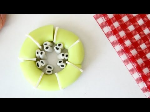 Polymer Clay Kiwi Cane Tutorial