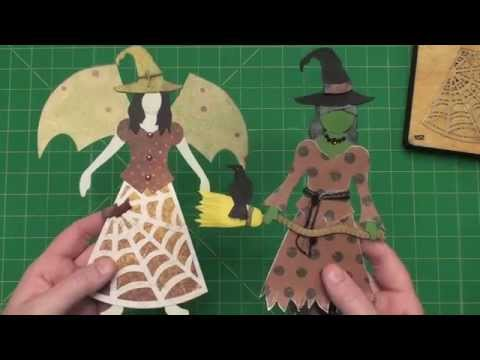 Create Art Doll Witches