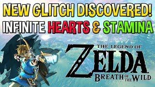 Download New Glitch in Breath of The Wild - Infinite Hearts and Stamina Duplication Glitch Video