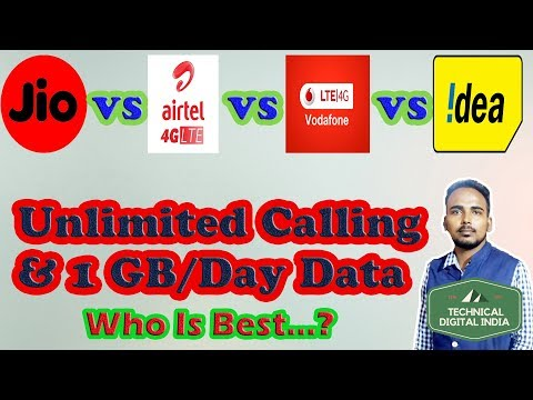 Choose Your Best Plan: Unlimited Calling & Data Plans | Jio | Airtel | Vodafone | Idea