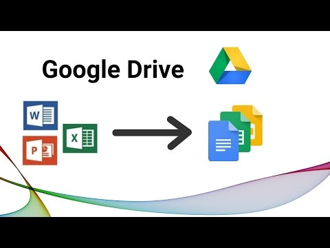 Converting documents into Google Drive in Bulk