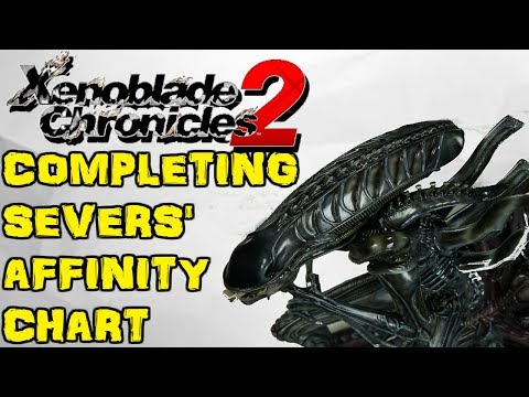 Xenoblade Chronicles 2 - Completing Severs' Affinity Chart