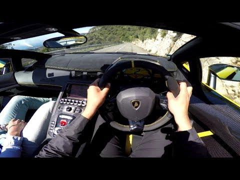 POV Drive: Lamborghini Aventador LP750-4 SV Roadster !!