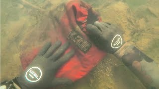 Found Lost iPhone 8 and Rescue Bag in River While Scuba Diving! (What