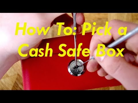 How To Lock Pick A Cash Safe Box FAST
