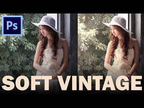 Soft Tone Vintage - Photoshop Tutorial by Steven Chu Photoworks