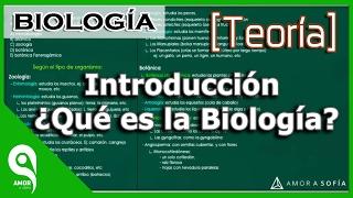 Biología │Introducción ¿Qué es la Biología? (MEJORADO)