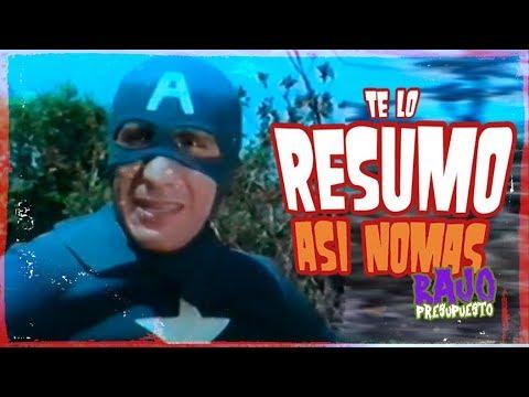Capitán América Turco   Te Lo Resumo Así Nomás de Bajo Presupuesto