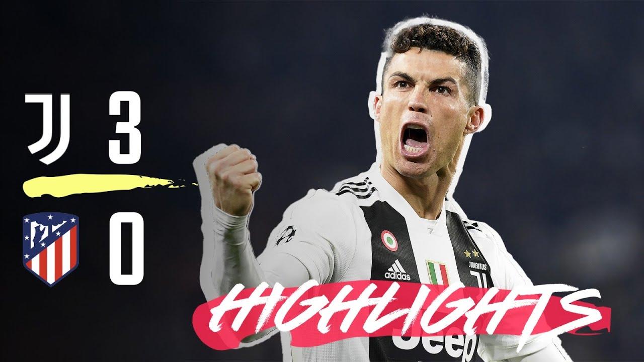 HIGHLIGHTS: Juventus vs Atletico Madrid - 3-0 - Ronaldo hat-trick completes comeback!