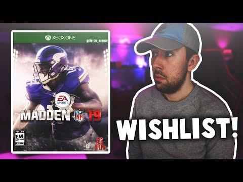 Madden 19 Wishlist! ACTUAL Career Mode, Custom Celebrations, & Online MUT Mini Games