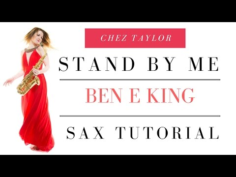 How to play Stand By Me Ottis Redding on Saxophone 🎶 Lesson/tutorial