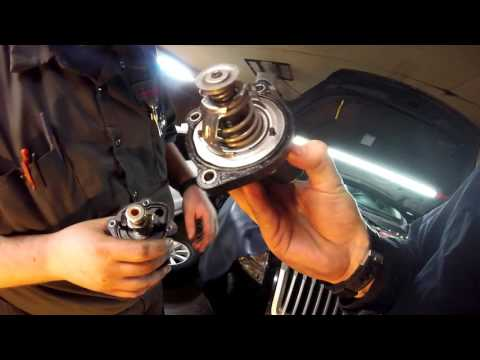How to change a thermostat on a 2006 to 2010 Ford Fusion