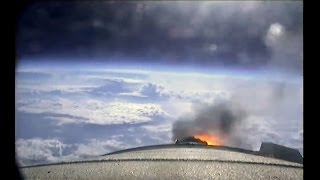 ᴴᴰ Full Ride on the Space Shuttle Boosters ♦ Natural Sound ♦ STS 134 Launch