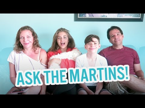 Ask The Martins! | Baby Ariel, Jacob, Sharon, & Jose