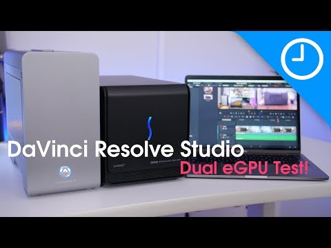 Two eGPUs at ONCE?! Supercharge DaVinci Resolve on Mac! [9to5Mac]