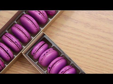 Purple Raspberry Macaron (By BlanchTurnip)