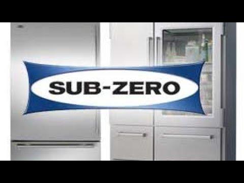 Sub-Zero Fridge Evaporator De-Icing