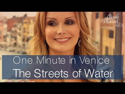 One minute in Venice with Giada Valenti