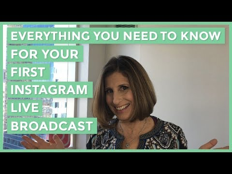 Everything You Need To Know For Your First Instagram Live Broadcast