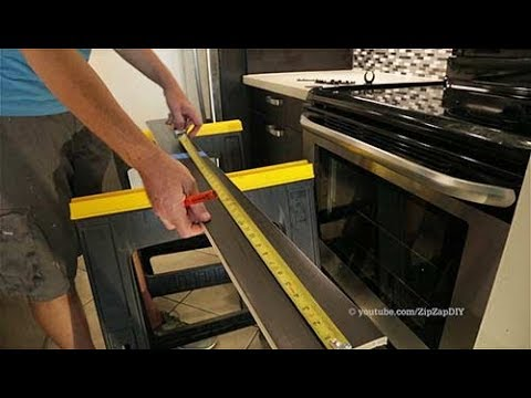 IKEA Toe Kick Installation / SEKTION Cabinets