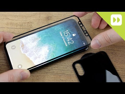 Olixar GlassTex iPhone X Front & Back Glass Screen Protector Installation Guide & Review