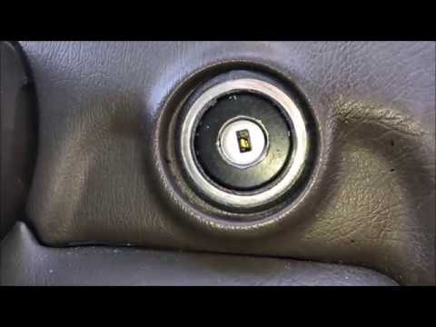 How to Repair / Fix Stuck Ignition Key - Mercedes (worn tumbler replacement)