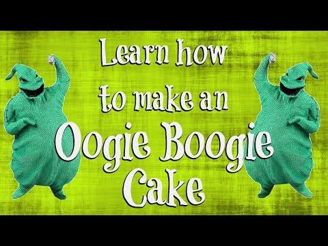 Learn how to make an Oogie Boogie Cake | Cakes and Crafts by Kass