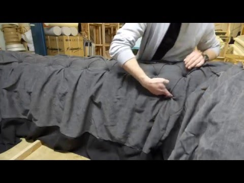 tufting a cloth chesterfield settee