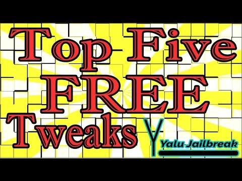 Top Five FREE Cydia Tweaks iOS 10 - 10.2 Yalu Jailbreak April 4, 2017