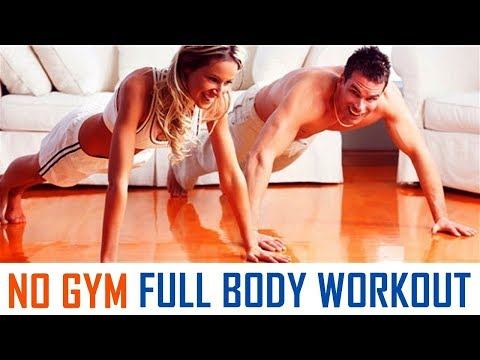 No Gym | Full Body Workout at Home without Gym | Fitness Rockers
