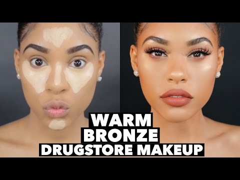 WARM BRONZE DRUGSTORE MAKEUP BEAT