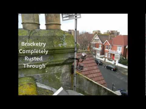 Digital TV Aerial Before and After Installed in Hove By Doddington Aerials & Satellites