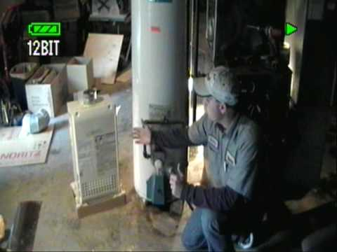 Tankless Water Heater Install Video