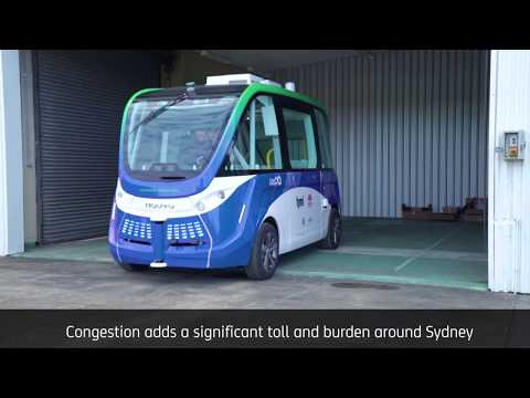 Driverless bus to be trialled at Sydney Olympic Park